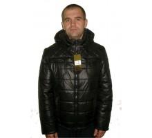 Демисезонная мужская куртка черная ЛАНА2-2
