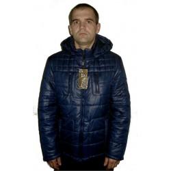Демисезонная мужская куртка синяя ЛАНА1-3