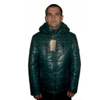 Мужская куртка осень т.зеленая ЛАНА1-1