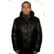 Мужская  куртка Зима черная ЛАНА4-1