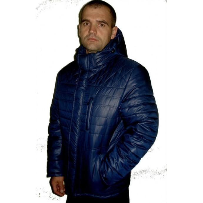 Мужская зимняя куртка синяя ЛАНА4