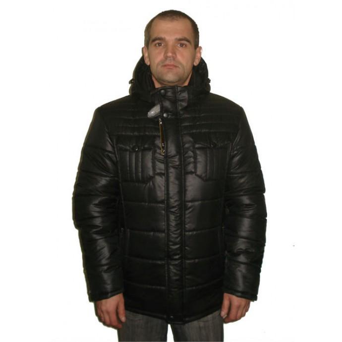 Зимняя мужская куртка черн.ЛАНА3-1-1