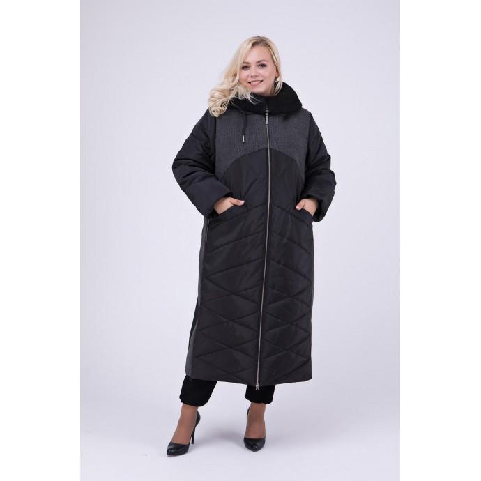 Длинное зимнее пальто РК111150-695