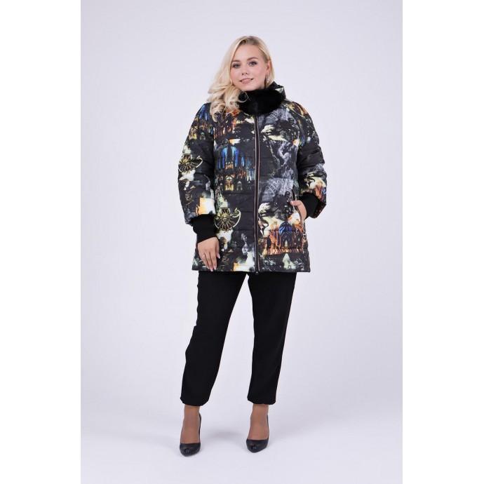Куртка с принтом РК111156-692