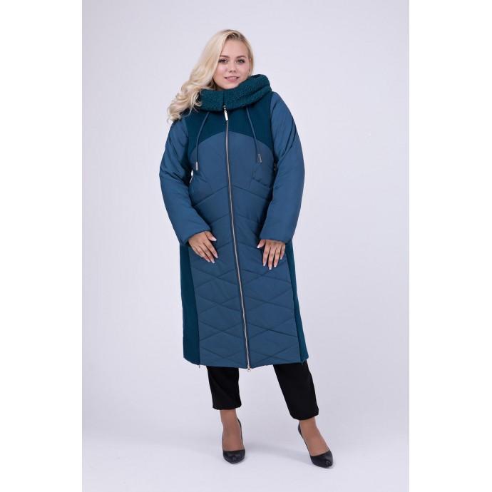 Длинное зимнее пальто РК111152-695