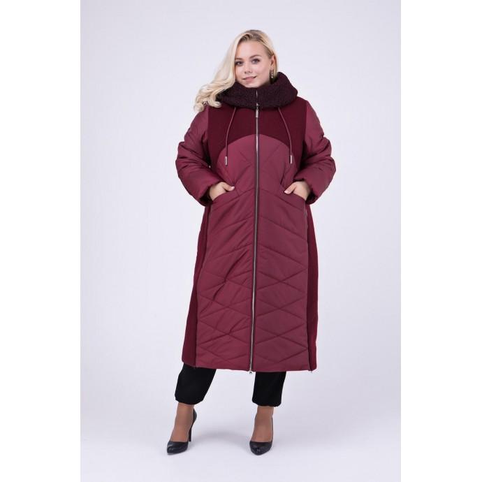 Длинное зимнее пальто РК111149-695