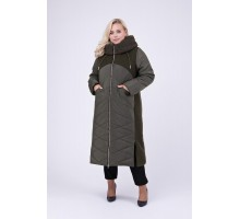 Длинное зимнее пальто РК111151-695
