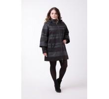 Куртка женская большого размера черная РК1165-518