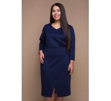 Платье КЕЛЛИ темно-синее САДМ806