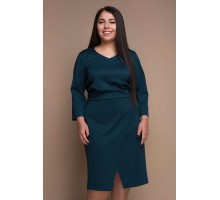 Платье КЕЛЛИ малахит САДМ807