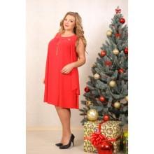 Платье Актава Красный ЗС 2014