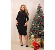 Платье Мэри черное ЗС 2041