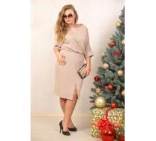 Платье Надин беж ЗС 2047