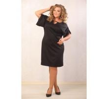 Платье Ольвия чёрное АВКС 0119