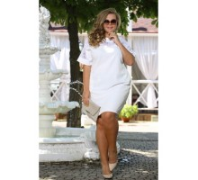 Платье Бруклин белое ПП70050