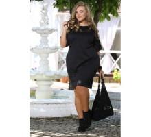 Платье Бруклин черное ПП70052