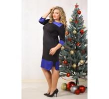 Платье Викки чёрное НС 90037
