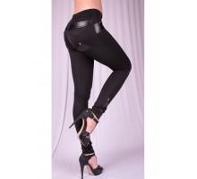Леггинсы Fashion черные 36-58 размеры ВР22001