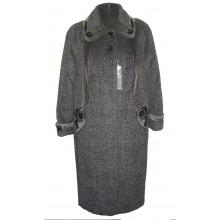 Зимнее пальто с отделкой АВО 15033