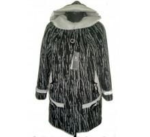 Женское пальто с нерпой АВО 15028