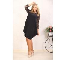 Платье Бриз чёрное А 396