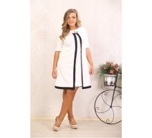 Платье Марша молоко А 389