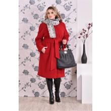 Пальто красное (разные версии) ККК993-0151-2