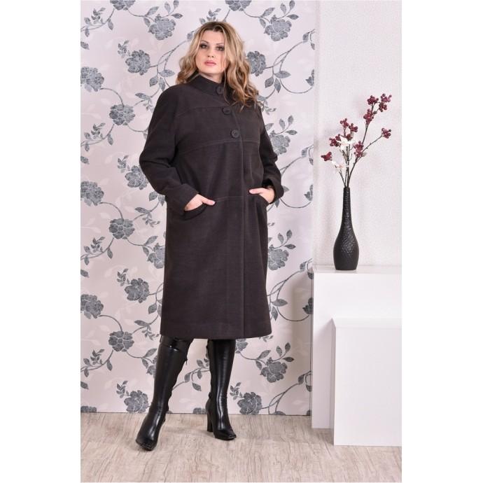 Темно-серое пальто (разные версии) ККК9911-0168