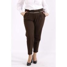 Коричневые удобные брюки ККК6661-b064-3