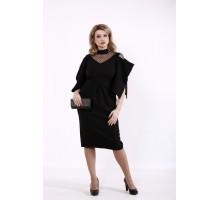 Черное платье летучая мышь КККD12-01744-3