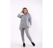 Светло-серый спортивный костюм КККD25-01738-3