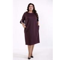Бисквитное прямое платье КККD42-01732-1