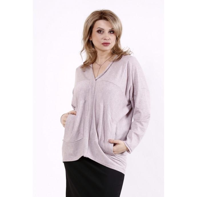 Бисквитная блузка из ангоры КККD10-01745-2