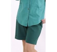 Темно-зеленые шорты КККC003-b075-3