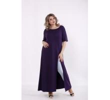 Фиолетовая длинная туника КККC0039-01506-3