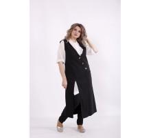 Черный костюм: брюки и жилетка КККC0059-01499-1