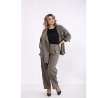 Горчичный костюм: брюки и пиджак КККC0060-01498-3