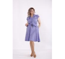 Сиреневое платье с пышной юбкой КККC008-01517-1