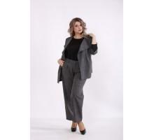 Темно-серый костюм: брюки и пиджак КККC0062-01498-1