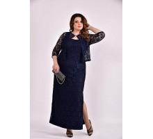 Синий костюм 42-74 размер ККК328-0487-2