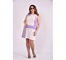 Платье сирень 42-74 размер ККК312-0493-3