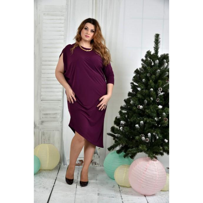 Фиолетовое платье 42-74 размер ККК723-0387-3