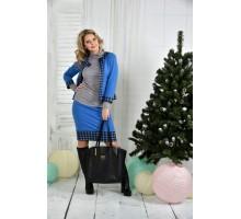 Синий костюм 42-74 размер ККК716-0389-3