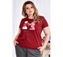 Красная футболка ККК2994-0562-2