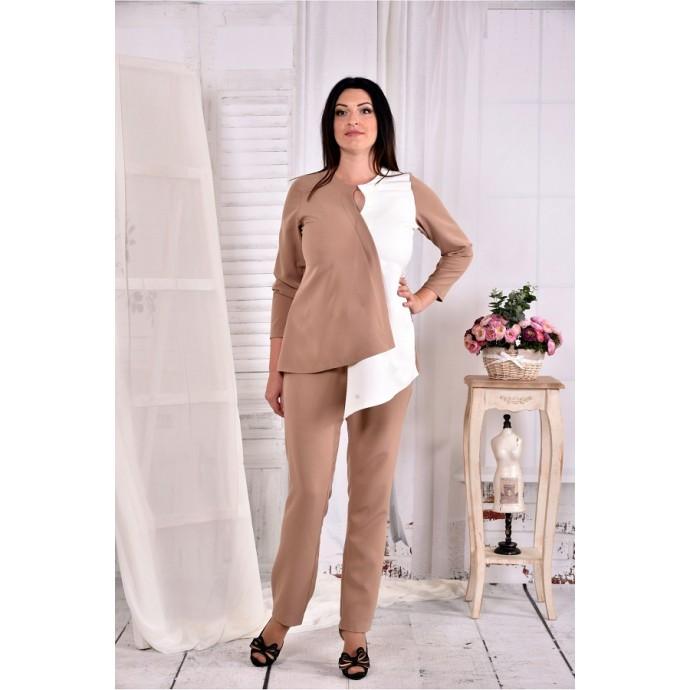 Блузка из костюмки ККК294-0565-3