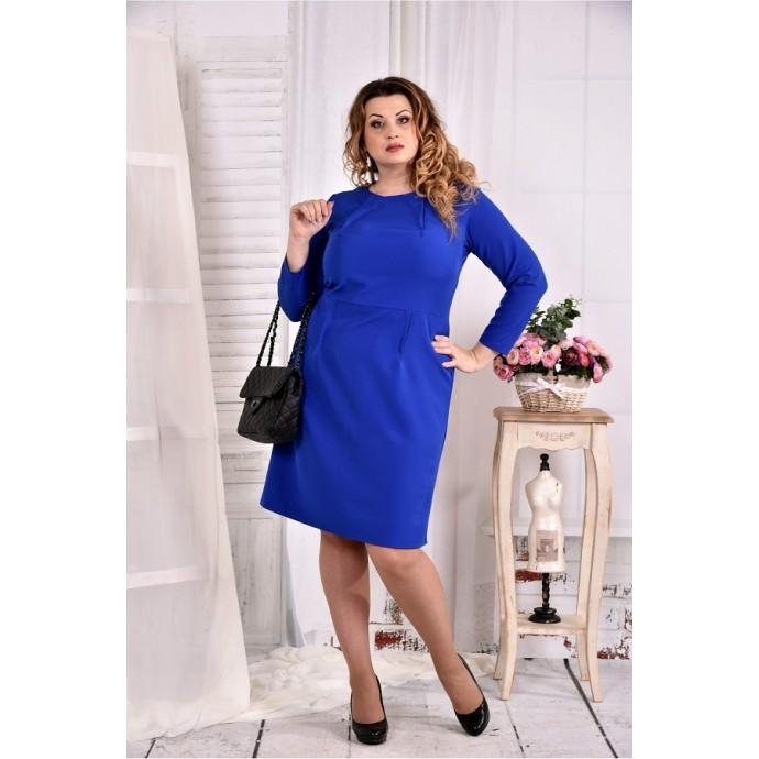 Платье электрик ККК274-0573-2
