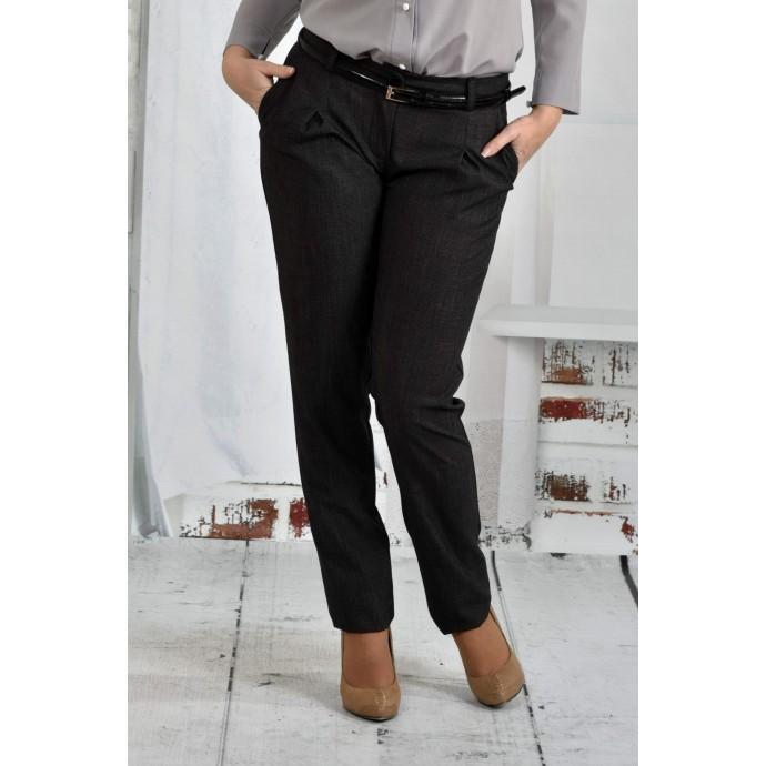 Серые брюки 42-74 размер ККК656-021-2