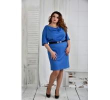Платье электрик 42-74 размер ККК611-0397-2