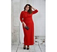 Красное платье 42-74 размер ККК613-0398-1