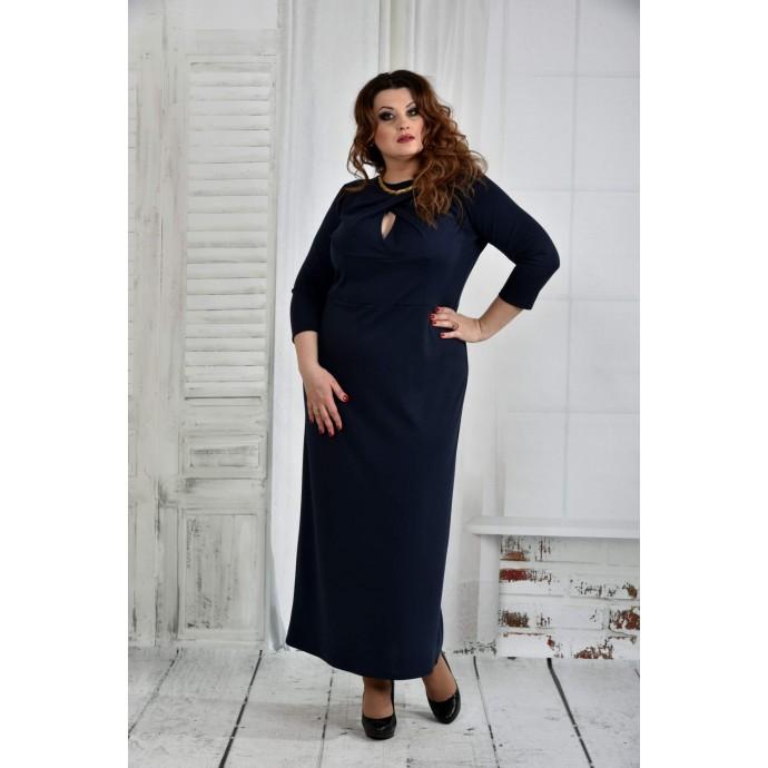 Синее платье 42-74 размер ККК615-0398-3